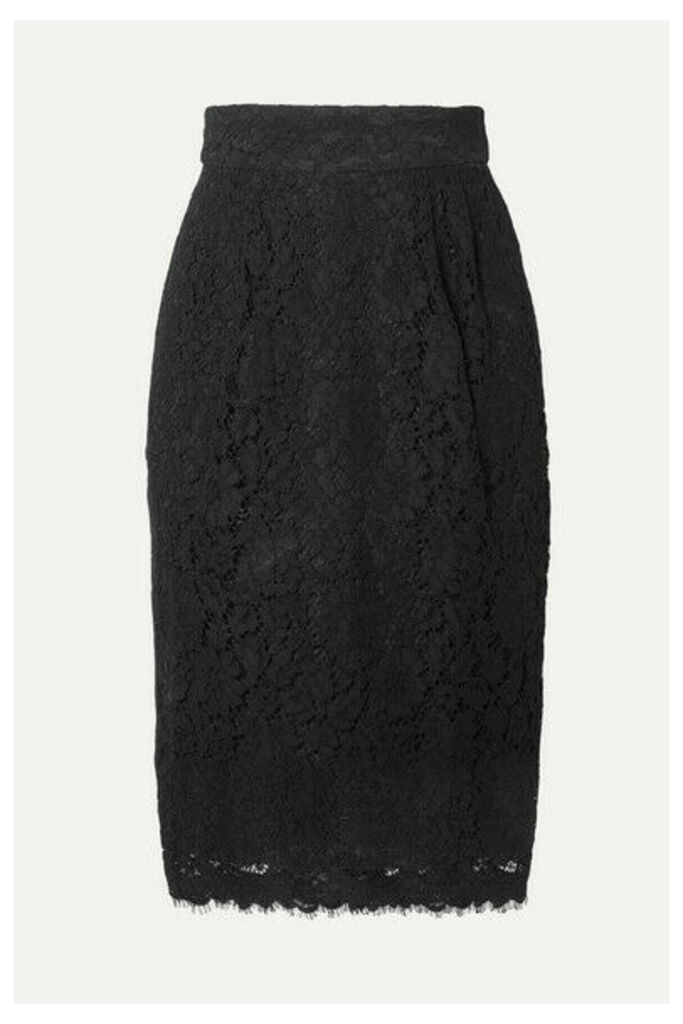 J.Crew - Lace Skirt - Black