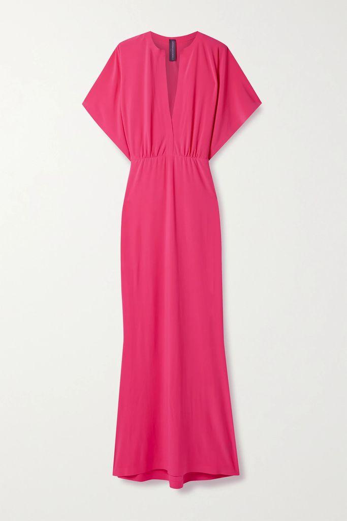 Ulla Johnson - Yana Embroidered Linen And Cotton-blend Midi Skirt - Off-white