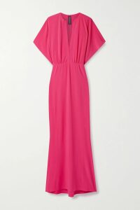 Ulla Johnson - Yana Embroidered Linen And Cotton-blend Midi Skirt - Off-white