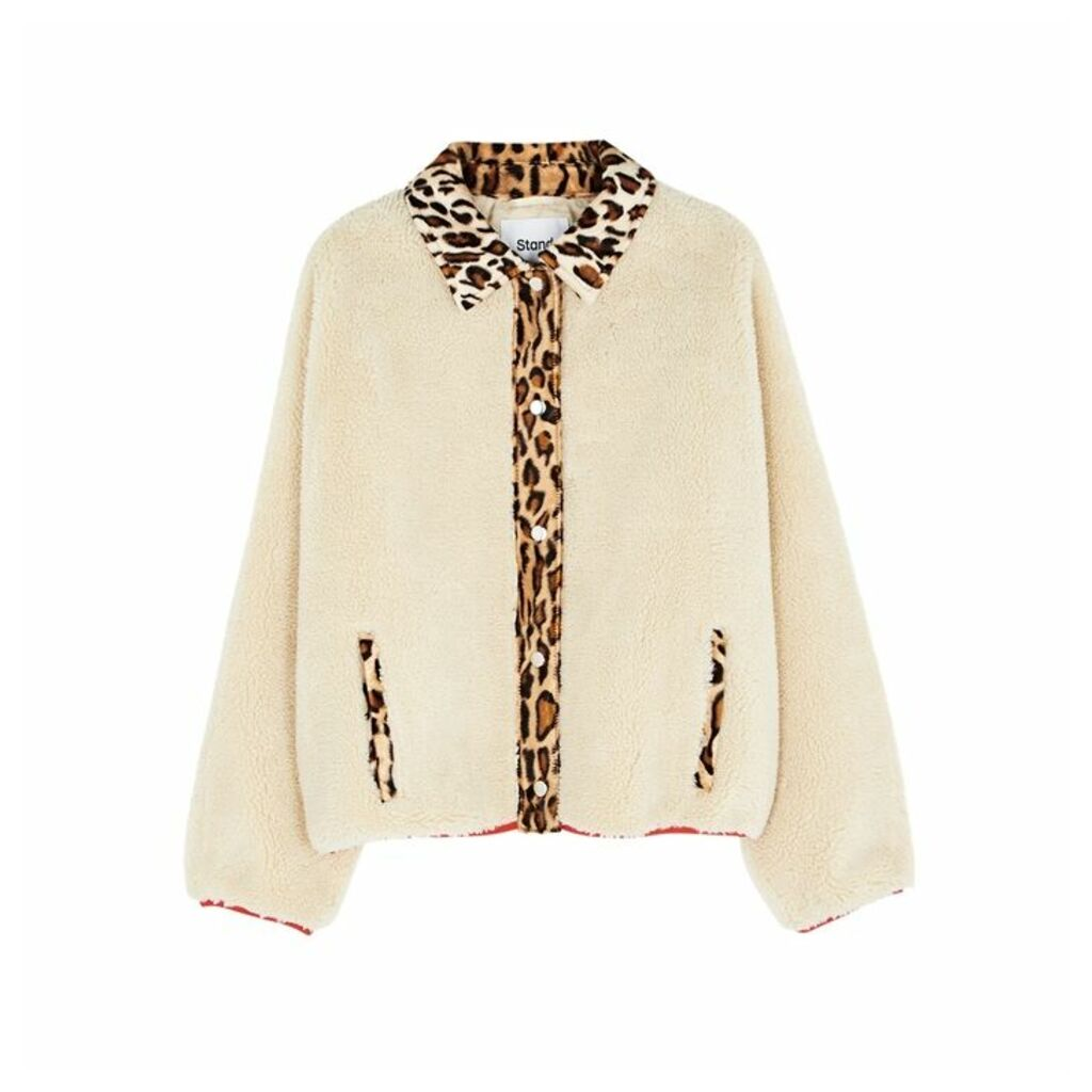 Stand Caren Faux Shearling Jacket