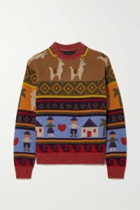 Diane von Furstenberg - Floral-print Stretch-cady Pencil Skirt - Black