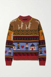 Diane von Furstenberg - Floral-print Stretch-cady Pencil Skirt - Black