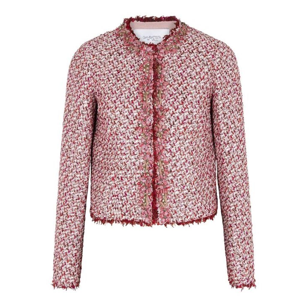 Giambattista Valli Embellished Tweed Jacket