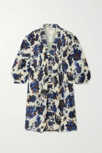 Alexander McQueen - Open-back Paneled Crocheted Cotton-blend Midi Dress - Ivory