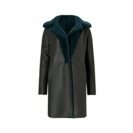 Jigsaw Italian Shearling Coat