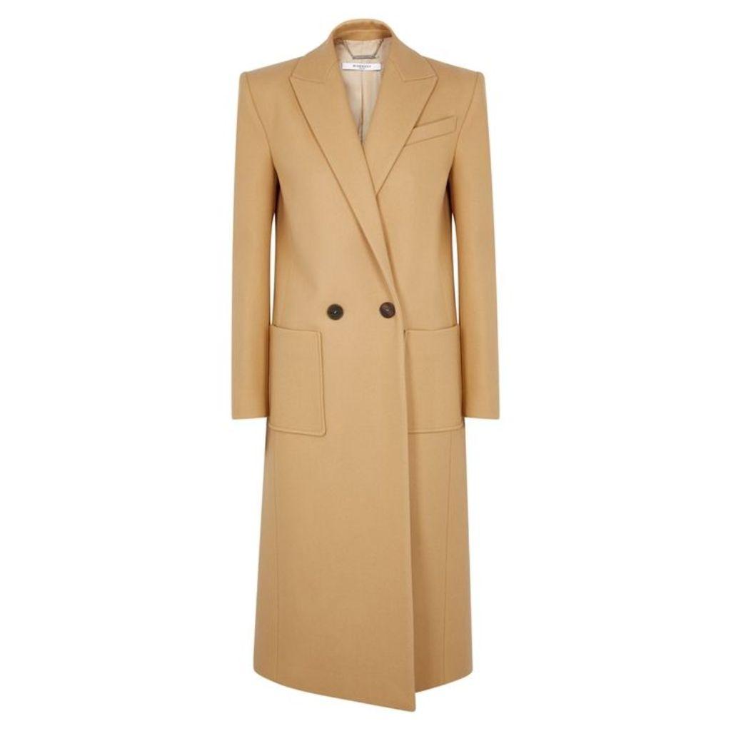 Givenchy Camel Wool Coat