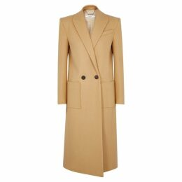 Givenchy Camel Wool Coat