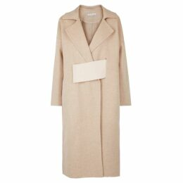 Rejina Pyo Kate Colour-block Wool-blend Coat