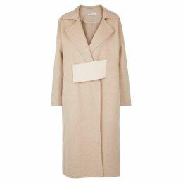 Rejina Pyo Kate Colour-block Wool-blend Coat