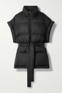 Miu Miu - Ruffled Printed Silk-crepe Wrap Mini Dress - Red