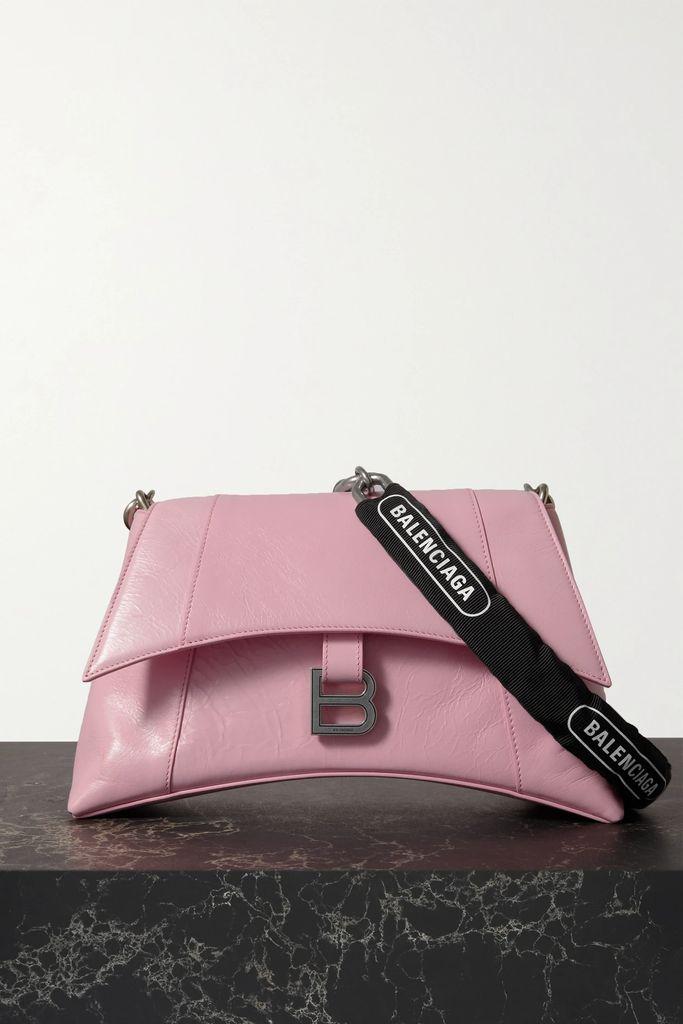 Balenciaga - New Swing Striped Cotton-poplin Shirt - Black
