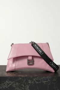 Balenciaga - New Swing Striped Cotton-poplin Shirt - Black