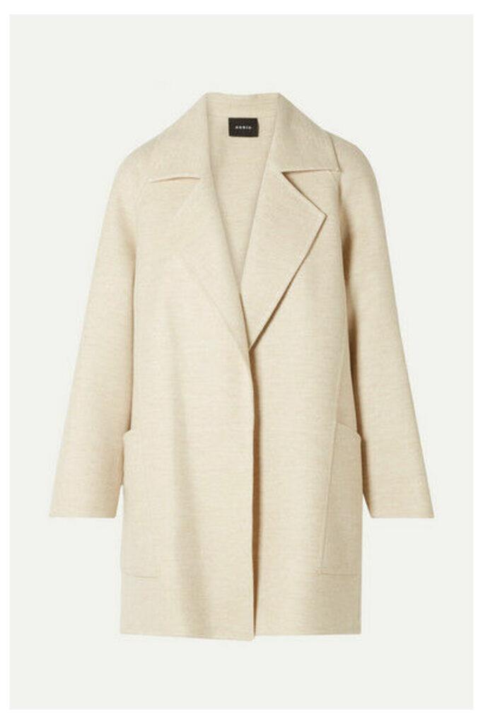 Akris - Bessy Cashmere Coat - Cream