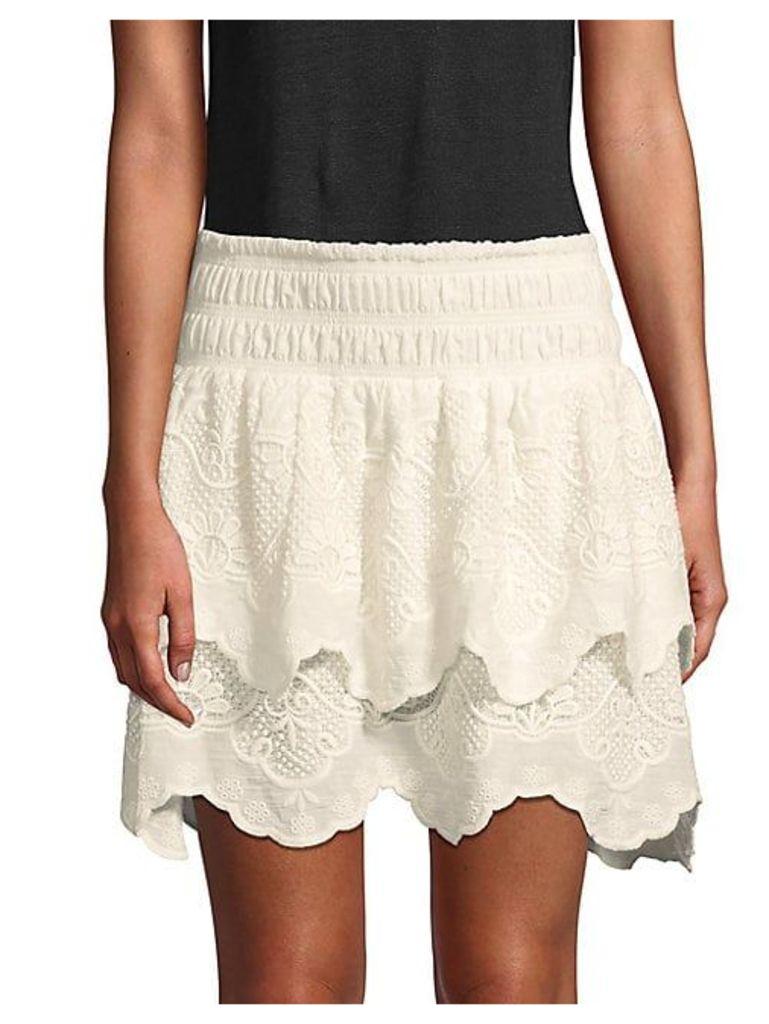 Vega Cotton Skirt