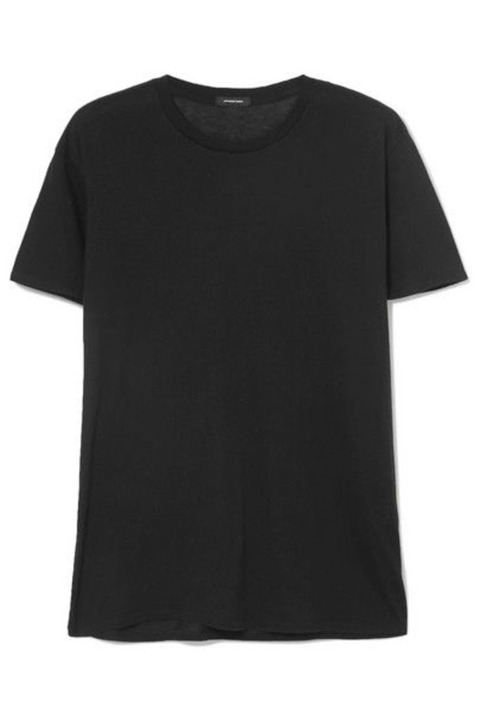R13 - Boy Cotton And Cashmere-blend T-shirt - Black