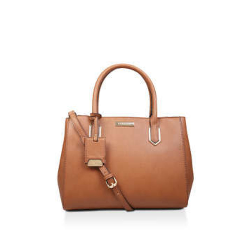 Carvela Sunny Double Zip Tote - Tan Tote Bag