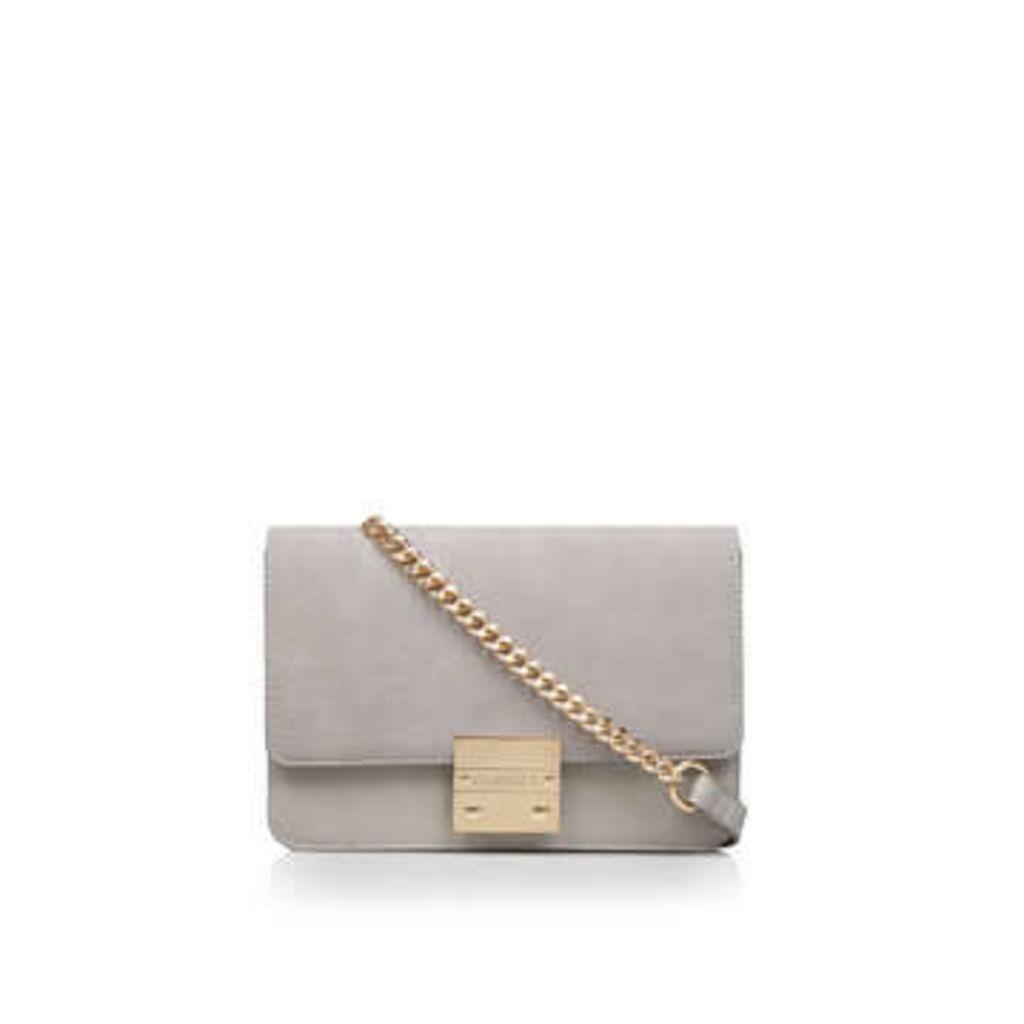 Carvela Bleu Chain X Body - Grey Cross Body Bag