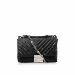 Carvela Bree Pinstud Shoulder Bag - Black Shoulder Bag