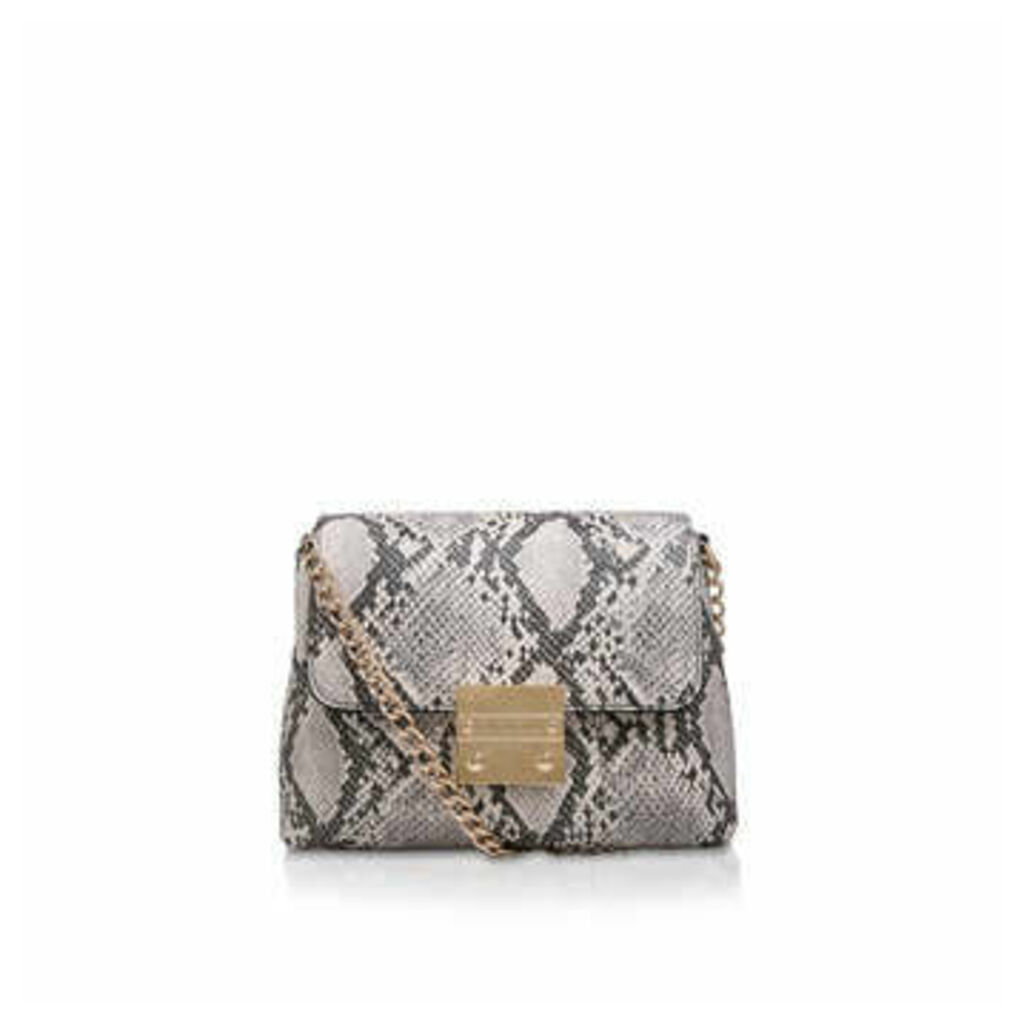 Carvela Mini Blink Shoulder Bag - Snake Print Shoulder Bag