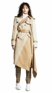 Monse Twisted Trench