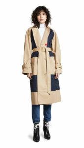 Tibi Combo Trench Coat
