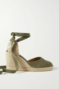 Fleur du Mal - Double-breasted Satin Trench Coat - Black