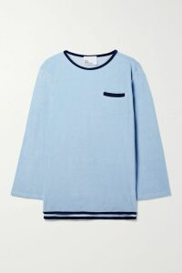 STAND - Maia Crinkled Glossed Faux Leather Coat - Black