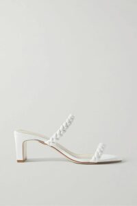 Oscar de la Renta - Double-breasted Wool-blend Twill Blazer - Blue