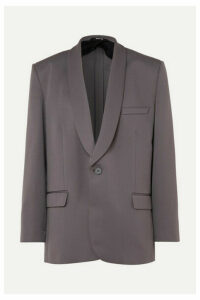 Maison Margiela - Oversized Cady Blazer - Gray