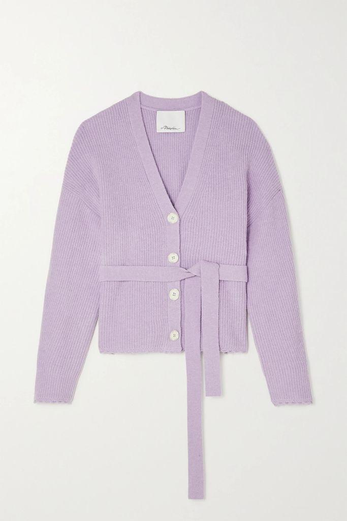 Chloé - Belted Pinstriped Woven Blazer - Cream