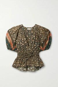 Tibi - Luxe Oversized Faux Fur Coat - Cream