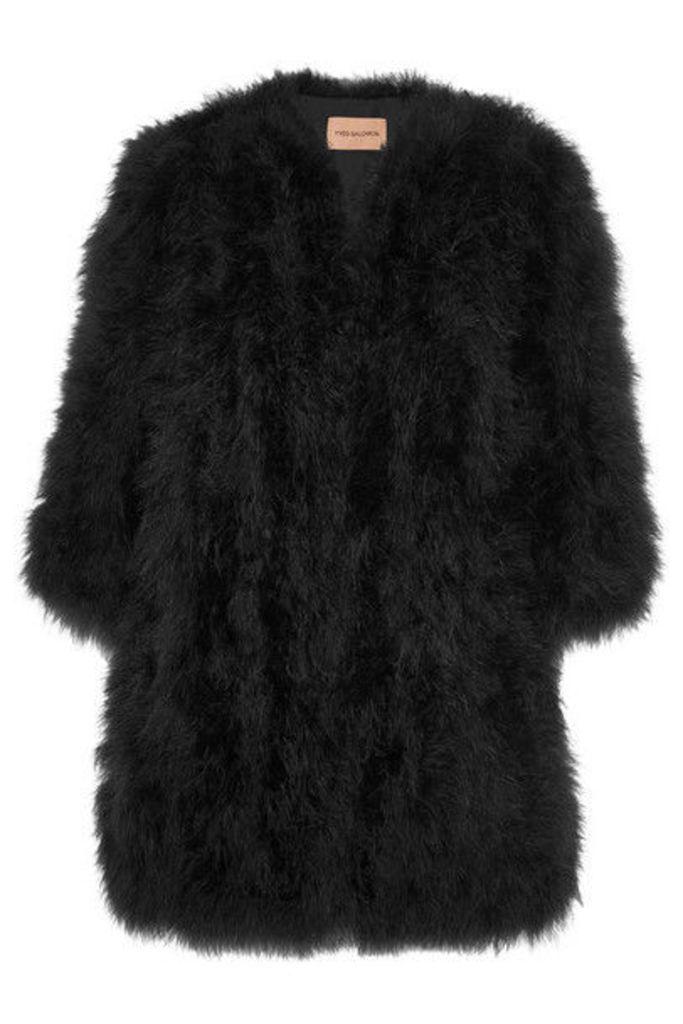 Yves Salomon - Feather Jacket - Black