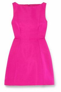 Brandon Maxwell - Silk-faille Mini Dress - Fuchsia