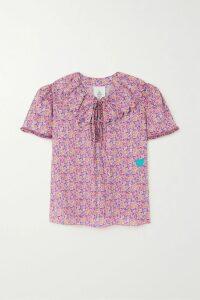 Ellery - Heritage Faille Mini Dress - Black