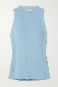 Preen Line - Ayaka Ruffled Ruched Asymmetric Crepe De Chine Dress - Pastel pink