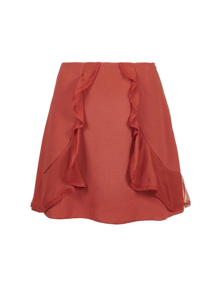 See By Chloé Ruffle Trim Skirt
