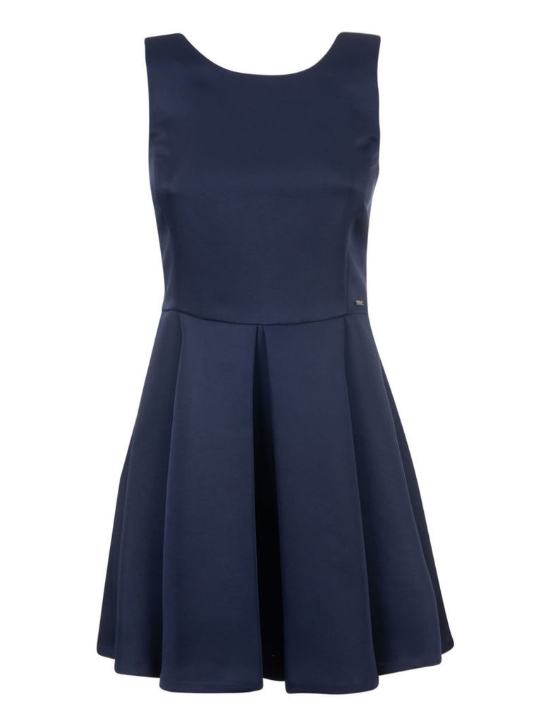 Armani Collezioni Pleated Dress