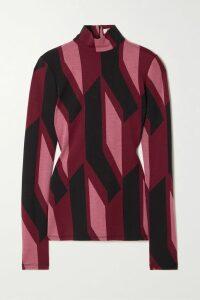 Balmain - Oversized Printed Cotton-jersey Hoodie - Black