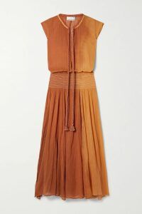 Gucci - Embellished Wool-felt Coat - Navy