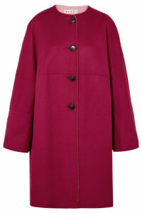 Marni - Reversible Wool And Cashmere-blend Coat - Pink
