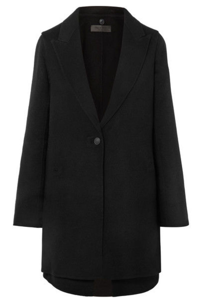 rag & bone - Kaye Convertible Wool-blend Felt Coat - Black