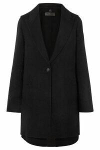 rag & bone - Kaye Convertible Wool-blend Felt Coat - Black