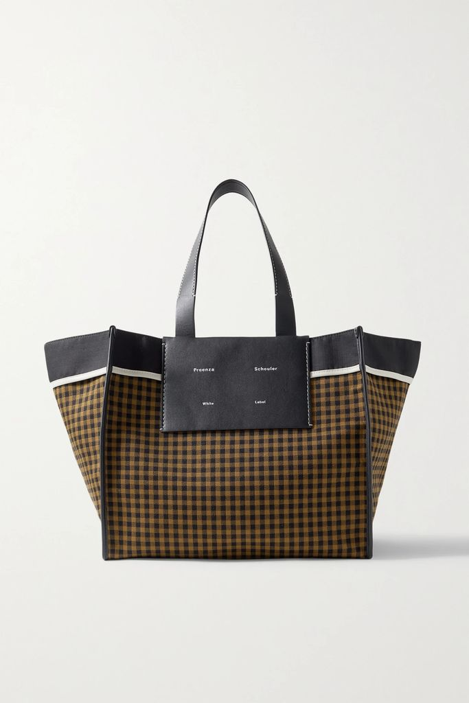 Roland Mouret - Pullman Asymmetric Belted Prince Of Wales Checked Wool-blend Coat - Gray
