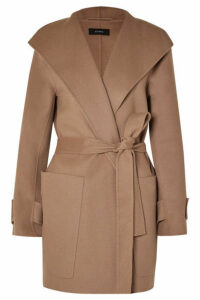 Joseph - Lista Belted Wool-blend Coat - Camel