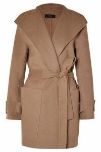 Joseph - Lista Belted Wool-blend Coat - Camel
