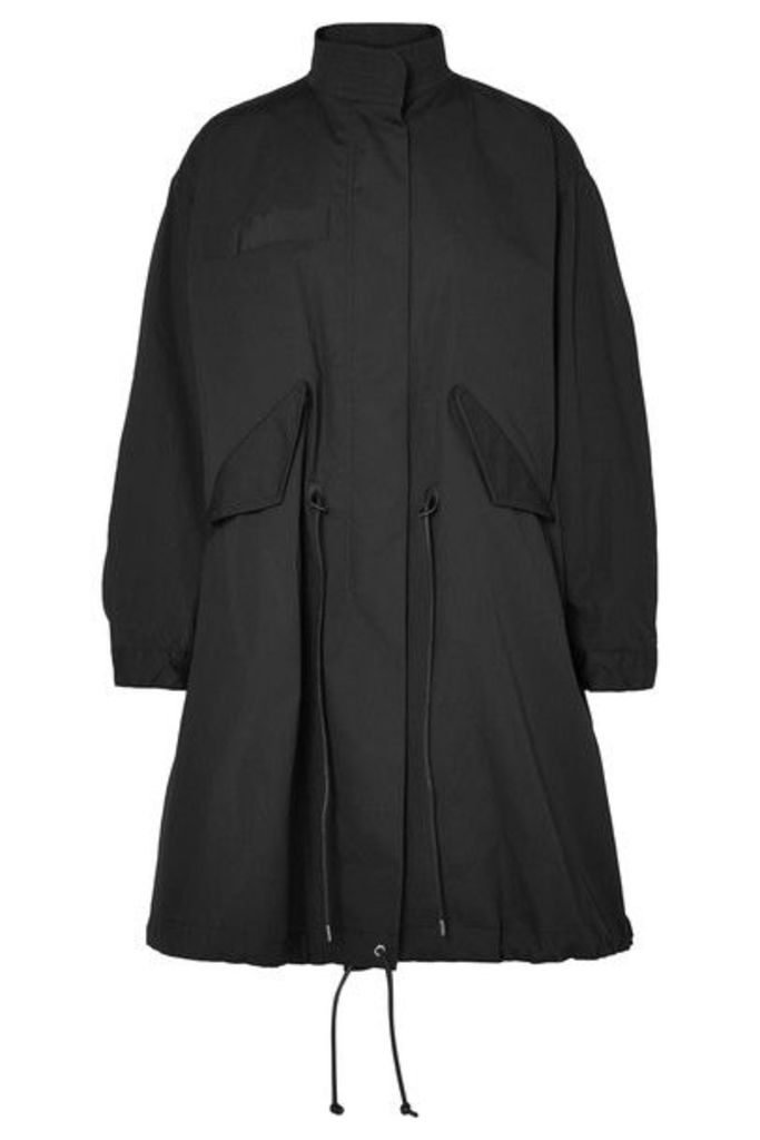 Sacai - Cotton-canvas Parka - Black