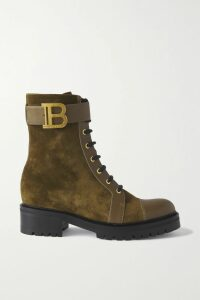 Adam Lippes - Shirred Cotton-voile Jacquard Maxi Dress - Navy