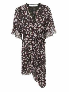 Iro Link Ruffle Wrap Dress