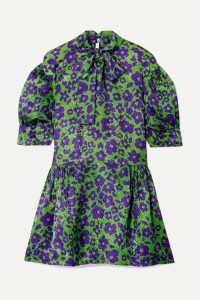 Deitas - Ada Silk-satin Maxi Dress - Black