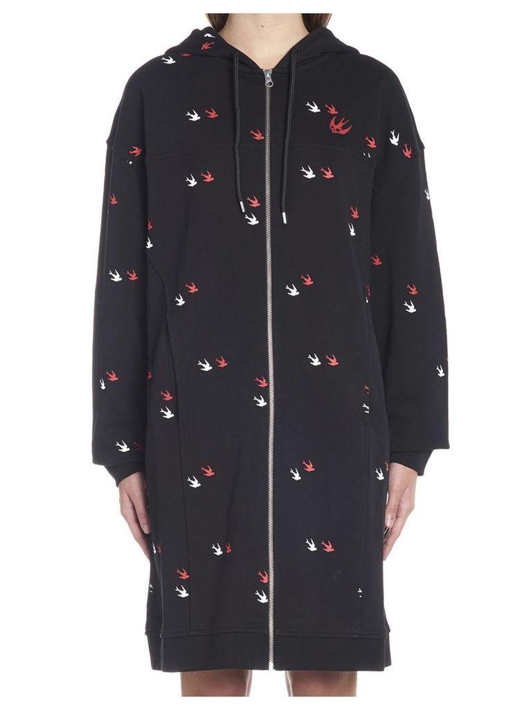Mcq Alexander Mcqueen 'swallow Twins' Dress